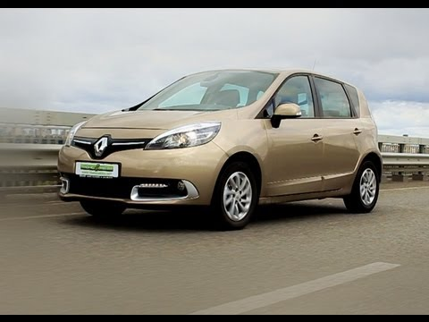 Рено Renault обзор Тест на практичность: New Renault Scenic Collection 2013